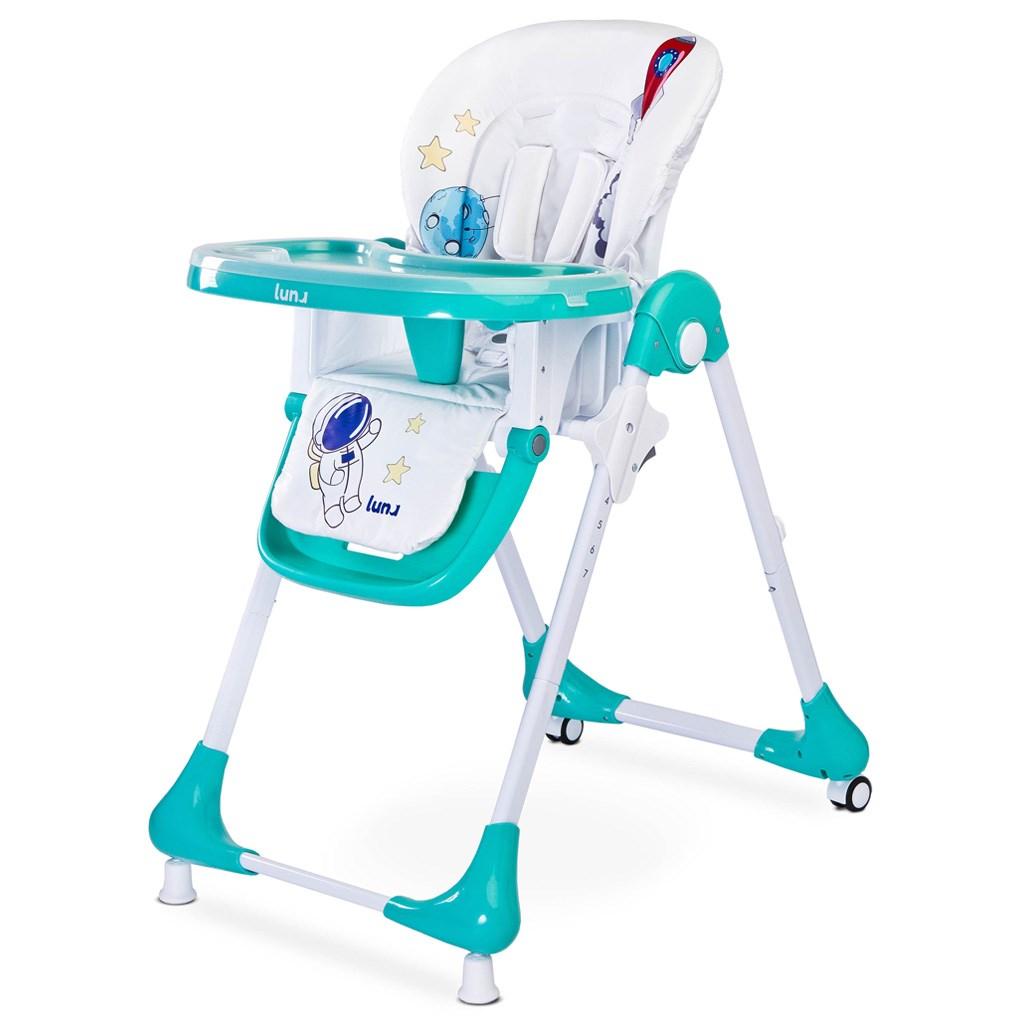 29548c1f2942 Jedálenská stolička CARETERO -rôzne farby - Pretehulky