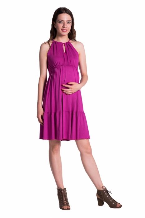 1f6ca927ac Letné tehotenské šaty na ramienka-rôzne farby - Pretehulky